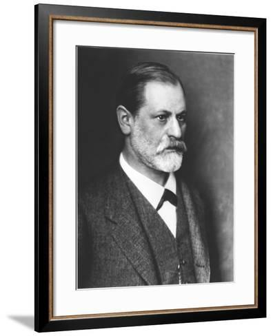 Portrait of Sigmund Freud circa 1900--Framed Art Print