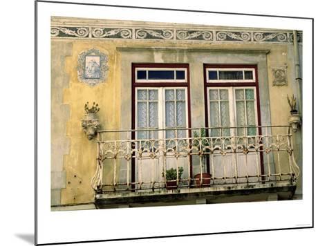 City Windows--Mounted Giclee Print