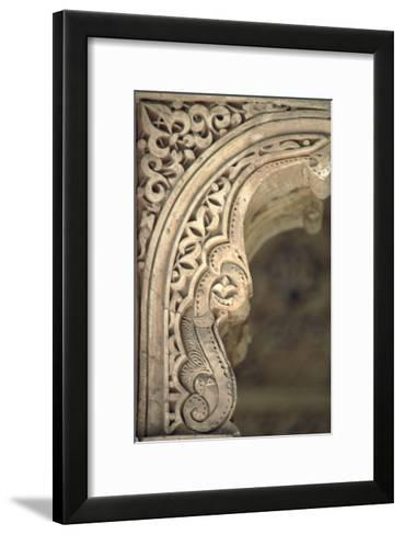 Detail of One of the Arches from the Patio--Framed Art Print