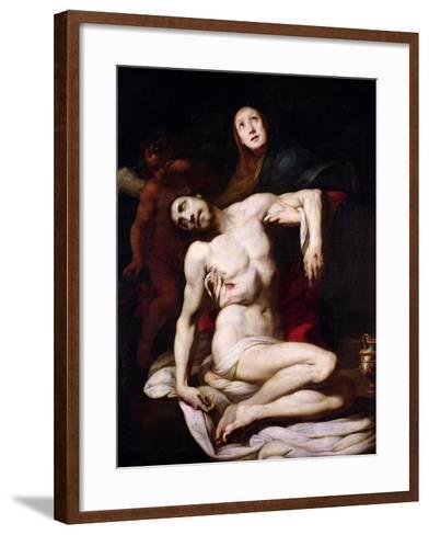 The Pieta-Daniele Crespi-Framed Art Print