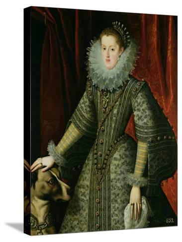 Queen Margarita of Austria, 1609--Stretched Canvas Print
