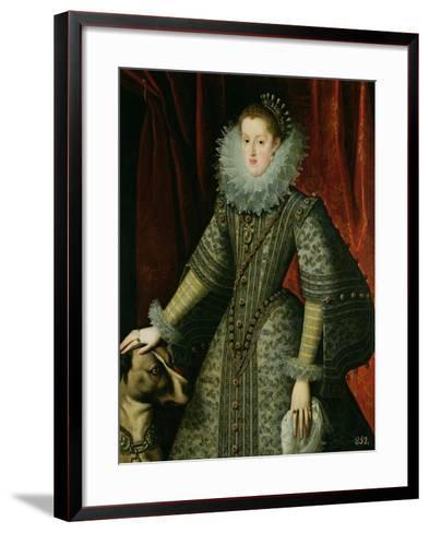Queen Margarita of Austria, 1609--Framed Art Print