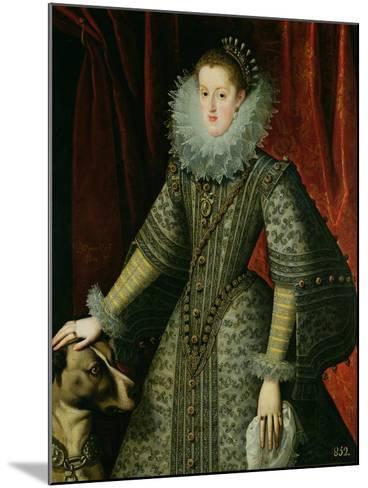 Queen Margarita of Austria, 1609--Mounted Giclee Print
