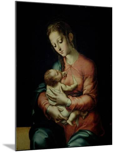 The Virgin and Child-Luis De Morales-Mounted Giclee Print