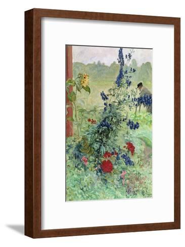 The Grandfather-Carl Larsson-Framed Art Print