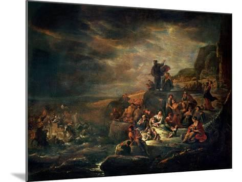 The Passage of the Red Sea-Jakob Willemsz de Wet-Mounted Giclee Print