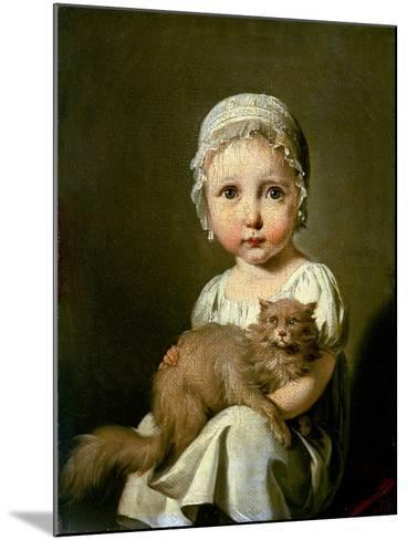 Gabrielle Arnault 1813-Louis Leopold Boilly-Mounted Giclee Print