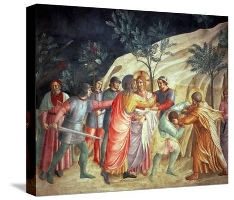 The Kiss of Judas, 1442-Fra Angelico-Stretched Canvas Print