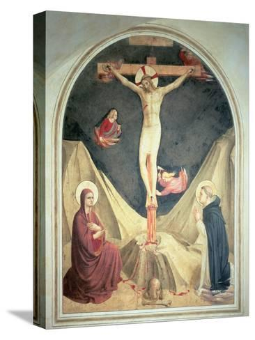 The Crucifixion, 1442-Fra Angelico-Stretched Canvas Print