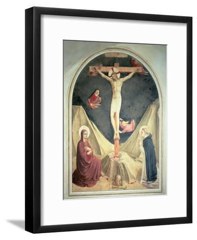 The Crucifixion, 1442-Fra Angelico-Framed Art Print