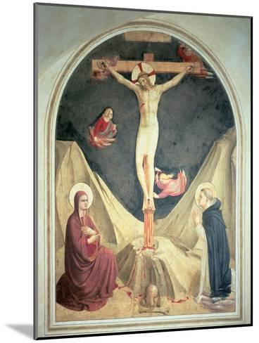 The Crucifixion, 1442-Fra Angelico-Mounted Giclee Print