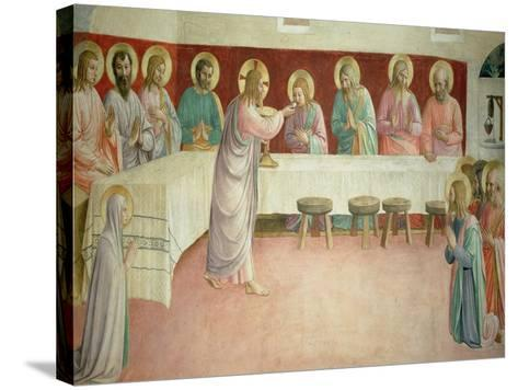 The Last Supper, 1442-Fra Angelico-Stretched Canvas Print