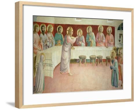 The Last Supper, 1442-Fra Angelico-Framed Art Print