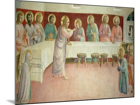 The Last Supper, 1442-Fra Angelico-Mounted Giclee Print