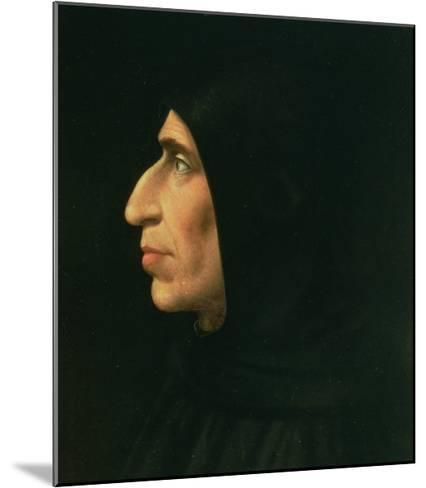 Portrait of Savonarola-Fra Bartolommeo-Mounted Giclee Print