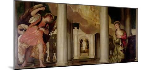 Annunciation-Paolo Veronese-Mounted Giclee Print