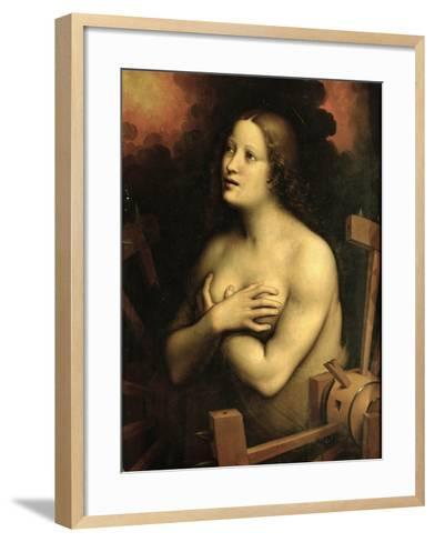 Saint Catherine of Alexandria- Giampietrino-Framed Art Print