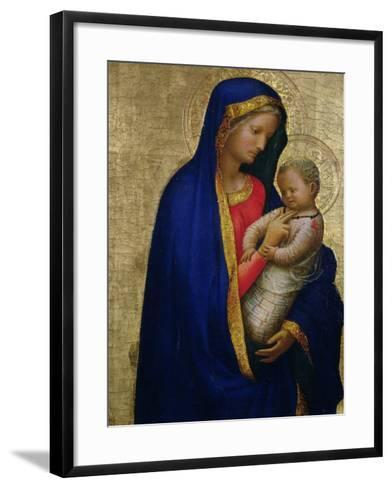 Madonna Casini-Tommaso Masaccio-Framed Art Print