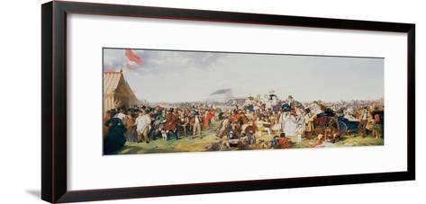 Derby Day-William Powell Frith-Framed Art Print