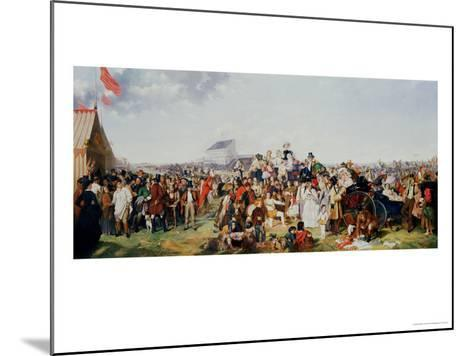 Derby Day-William Powell Frith-Mounted Giclee Print