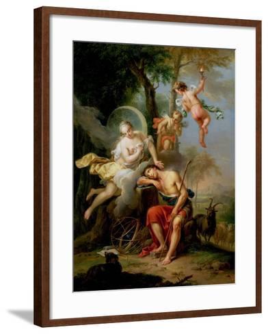 Diana and Endymion-Frans Christoph Janneck-Framed Art Print