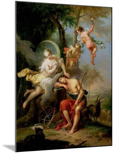 Diana and Endymion-Frans Christoph Janneck-Mounted Giclee Print