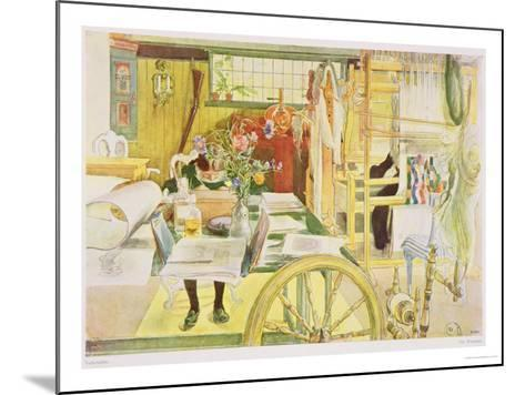 "The Workroom, Published in ""Lasst Licht Hinin,"" (""Let in More Light"") 1909-Carl Larsson-Mounted Giclee Print"