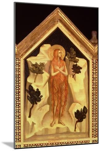 St. Mary Magdalene, from the St. Reparata Polyptych (Detail)-Giotto di Bondone-Mounted Giclee Print