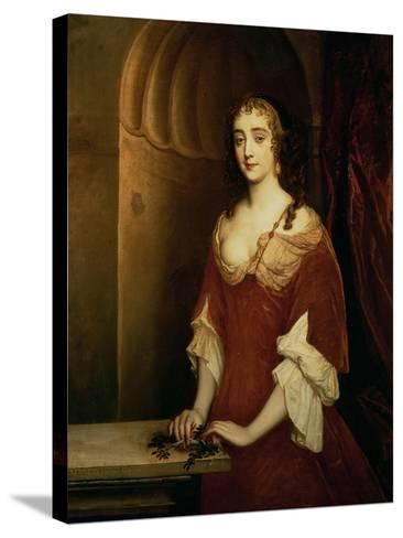 Probable Portrait of Nell Gwynne, Mistress of King Charles II-Sir Peter Lely-Stretched Canvas Print