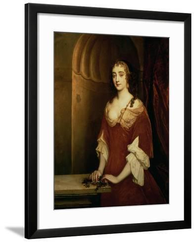 Probable Portrait of Nell Gwynne, Mistress of King Charles II-Sir Peter Lely-Framed Art Print
