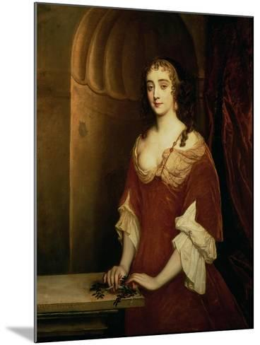 Probable Portrait of Nell Gwynne, Mistress of King Charles II-Sir Peter Lely-Mounted Giclee Print