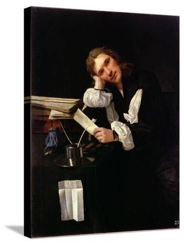 Self Portrait, 1656-Michael Sweerts-Stretched Canvas Print