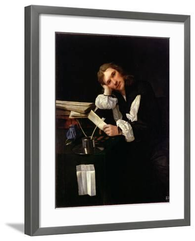 Self Portrait, 1656-Michael Sweerts-Framed Art Print