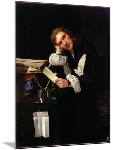 Self Portrait, 1656-Michael Sweerts-Mounted Giclee Print