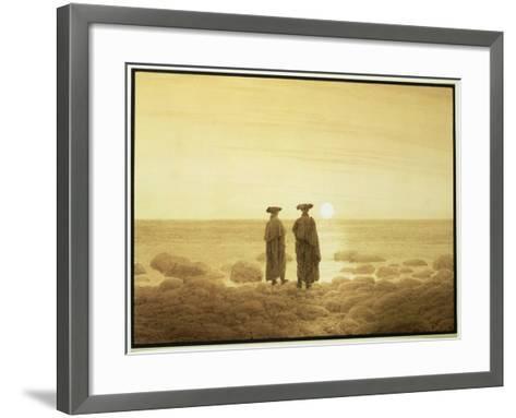 Moonrise, 1835-7-Caspar David Friedrich-Framed Art Print