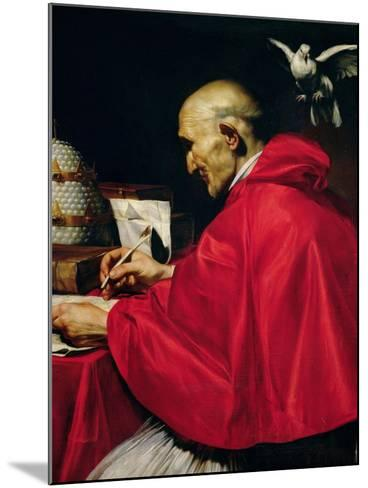 Pope Gregory the Great-Carlo Saraceni-Mounted Giclee Print