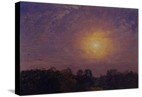 Evening, 1859-Jasper Francis Cropsey-Stretched Canvas Print