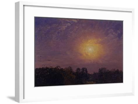 Evening, 1859-Jasper Francis Cropsey-Framed Art Print