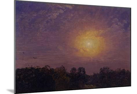 Evening, 1859-Jasper Francis Cropsey-Mounted Giclee Print