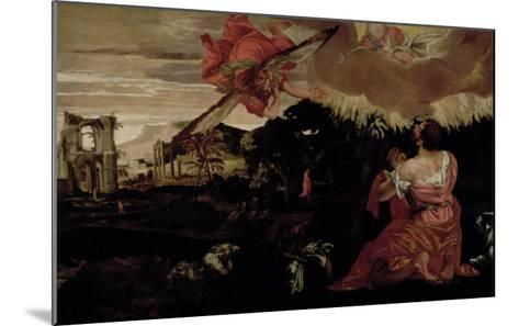 Moses and the Burning Bush-Paolo Veronese-Mounted Giclee Print