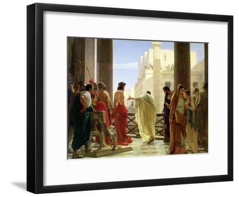Ecce Homo-Antonio Ciseri-Framed Art Print