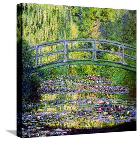 The Waterlily Pond with the Japanese Bridge, 1899-Claude Monet-Stretched Canvas Print