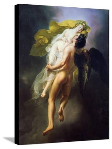 Boreas Abducting Oreithyia, 1822-Joseph Ferdinand Lancrenon-Stretched Canvas Print