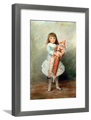 Suzanne-Pierre-Auguste Renoir-Framed Art Print