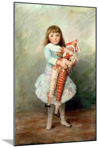 Suzanne-Pierre-Auguste Renoir-Mounted Giclee Print