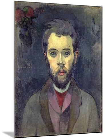 Portrait of William Molard, Swedish Composer, circa 1893-94-Paul Gauguin-Mounted Giclee Print