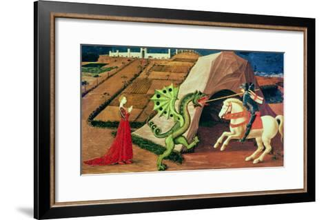 St. George and the Dragon, circa 1439-40-Paolo Uccello-Framed Art Print