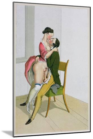 Two Lovers, Published 1835, Reprinted in 1908-Peter Fendi-Mounted Giclee Print