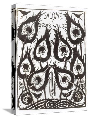 "Original Sketch for the Cover of ""Salome"" by Oscar Wilde circa 1894-Aubrey Beardsley-Stretched Canvas Print"