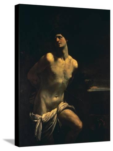 St. Sebastian-Guido Reni-Stretched Canvas Print